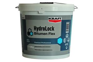 Hidroizolatii cu membrane lichide Produsele KRAFT HydroLock Bitumen sunt emulsii bituminoase pe baza de apa, cu aplicare la rece. Pot fi utilizate ca amorse si substraturi hidroizolatoare.