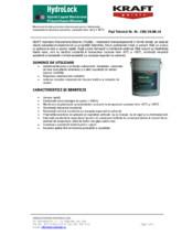 Membrana lichida poliuretan-bituminoa sa  pentru hidroizolatii KRAFT Paints