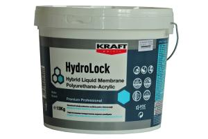 Hidroizolatii poliuretan Produsele KRAFT HydroLock Polyurethane sunt membrane monocomponente in forma lichida, pe baza de rasini poliuretanice, pentru hidroizolatii.