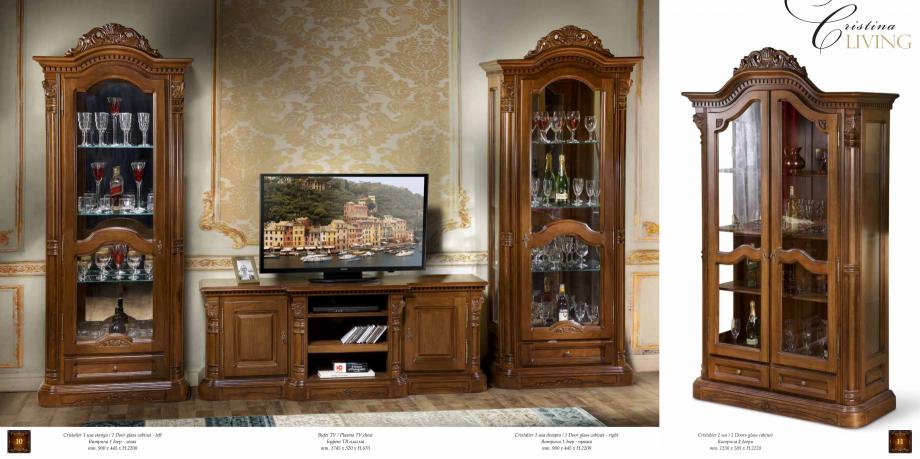 Pagina 7 - Mobilier din lemn masiv pentru camere de zi CASA MOBILA SIMEX Cristina, Royal, Venetia...