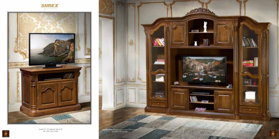 Pagina 8 - Mobilier din lemn masiv pentru camere de zi CASA MOBILA SIMEX Cristina, Royal, Venetia...