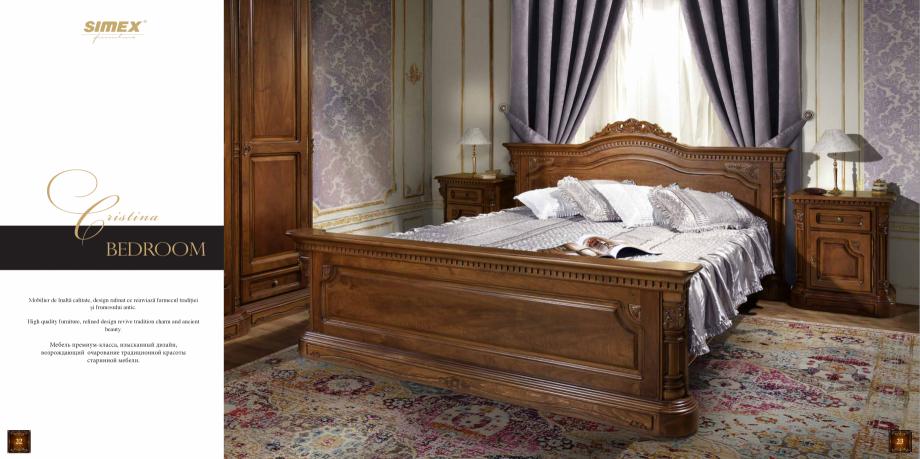 Pagina 13 - Mobilier din lemn masiv pentru camere de zi CASA MOBILA SIMEX Cristina, Royal, Venetia...