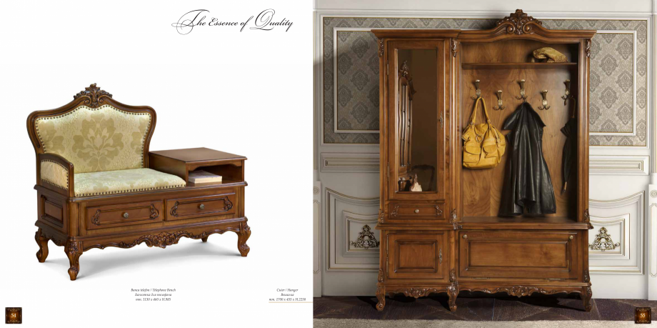Pagina 29 - Mobilier din lemn masiv pentru camere de zi CASA MOBILA SIMEX Cristina, Royal, Venetia...