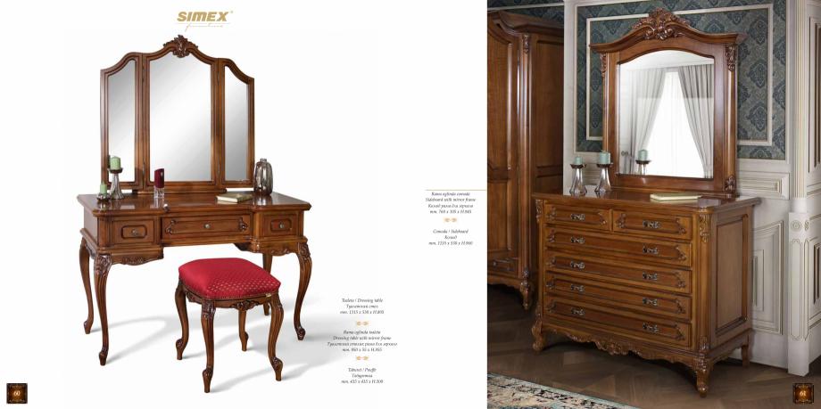Pagina 32 - Mobilier din lemn masiv pentru camere de zi CASA MOBILA SIMEX Cristina, Royal, Venetia...