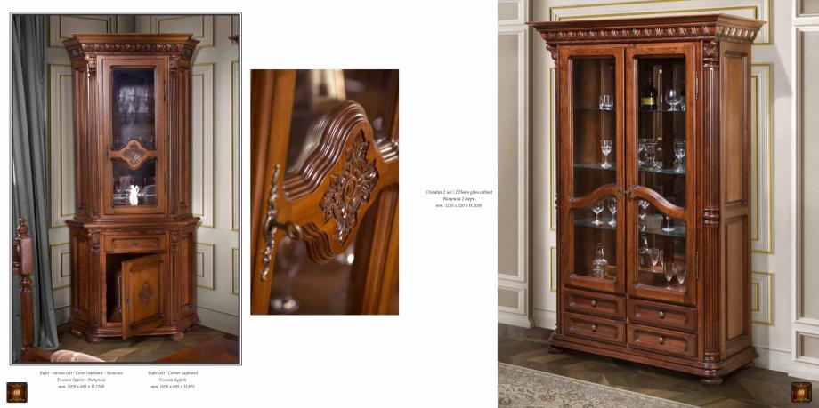 Pagina 36 - Mobilier din lemn masiv pentru camere de zi CASA MOBILA SIMEX Cristina, Royal, Venetia...