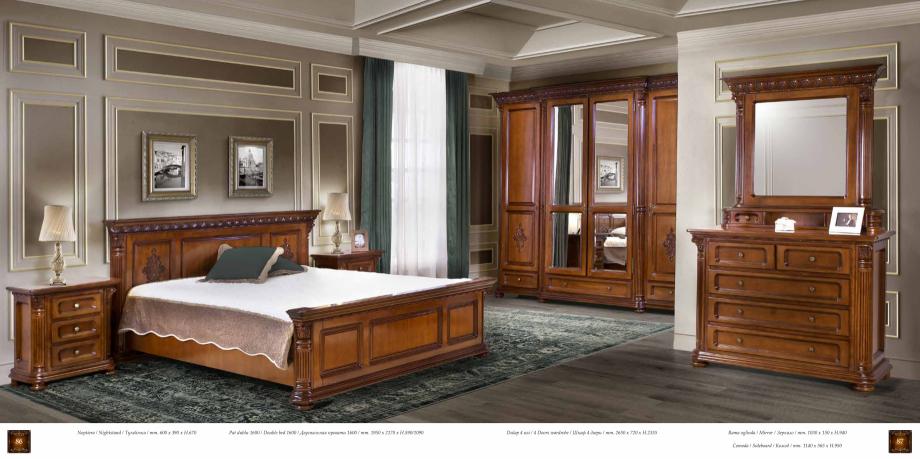 Pagina 45 - Mobilier din lemn masiv pentru camere de zi CASA MOBILA SIMEX Cristina, Royal, Venetia...