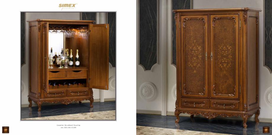Pagina 52 - Mobilier din lemn masiv pentru camere de zi CASA MOBILA SIMEX Cristina, Royal, Venetia...