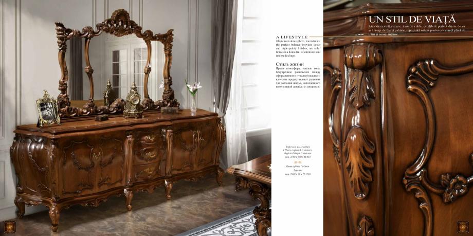Pagina 66 - Mobilier din lemn masiv pentru camere de zi CASA MOBILA SIMEX Cristina, Royal, Venetia...