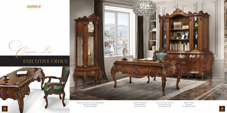 Pagina 68 - Mobilier din lemn masiv pentru camere de zi CASA MOBILA SIMEX Cristina, Royal, Venetia...