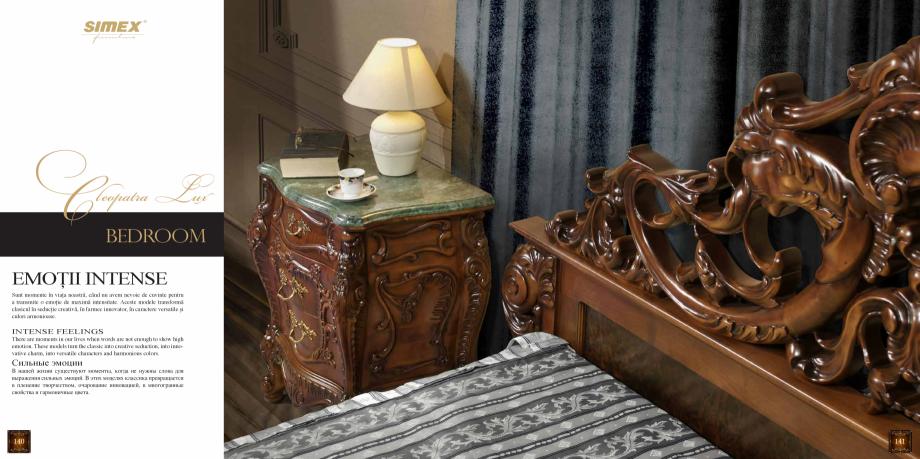 Pagina 72 - Mobilier din lemn masiv pentru camere de zi CASA MOBILA SIMEX Cristina, Royal, Venetia...
