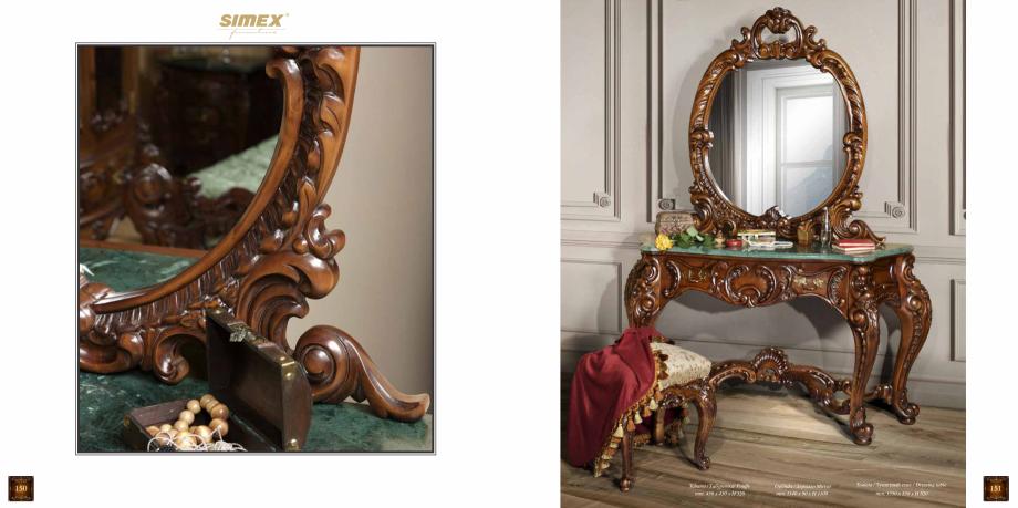 Pagina 77 - Mobilier din lemn masiv pentru camere de zi CASA MOBILA SIMEX Cristina, Royal, Venetia...