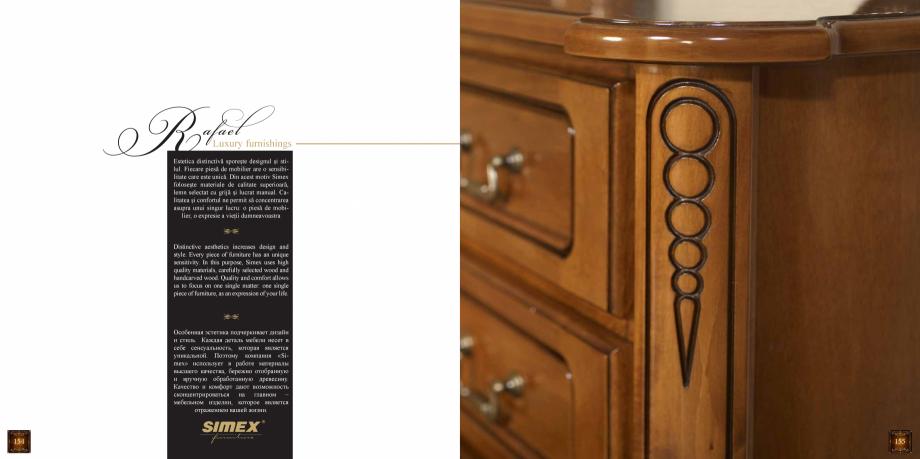 Pagina 79 - Mobilier din lemn masiv pentru camere de zi CASA MOBILA SIMEX Cristina, Royal, Venetia...