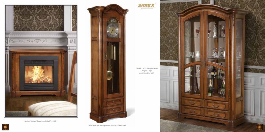 Pagina 82 - Mobilier din lemn masiv pentru camere de zi CASA MOBILA SIMEX Cristina, Royal, Venetia...