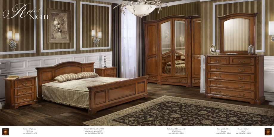 Pagina 84 - Mobilier din lemn masiv pentru camere de zi CASA MOBILA SIMEX Cristina, Royal, Venetia...