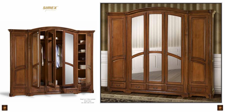 Pagina 86 - Mobilier din lemn masiv pentru camere de zi CASA MOBILA SIMEX Cristina, Royal, Venetia...