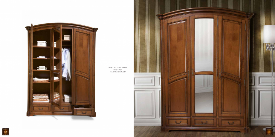 Pagina 87 - Mobilier din lemn masiv pentru camere de zi CASA MOBILA SIMEX Cristina, Royal, Venetia...