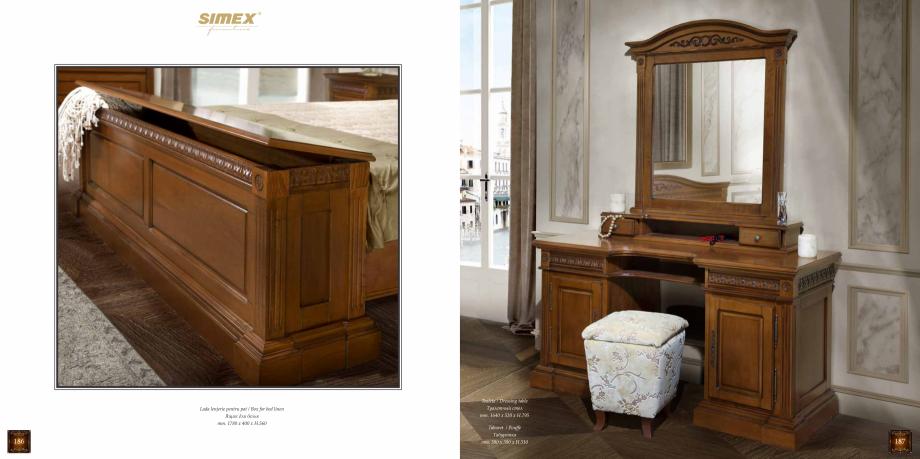 Pagina 95 - Mobilier din lemn masiv pentru camere de zi CASA MOBILA SIMEX Cristina, Royal, Venetia...