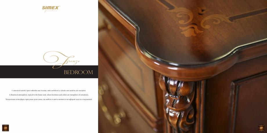Pagina 106 - Mobilier din lemn masiv pentru camere de zi CASA MOBILA SIMEX Cristina, Royal, Venetia ...