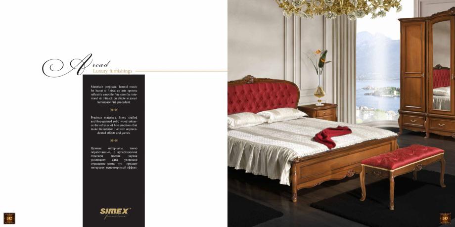 Pagina 123 - Mobilier din lemn masiv pentru camere de zi CASA MOBILA SIMEX Cristina, Royal, Venetia ...