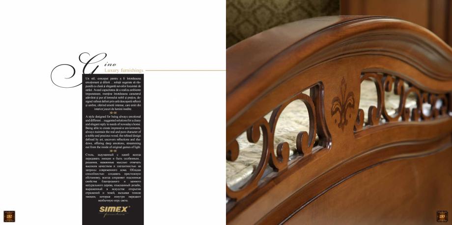Pagina 128 - Mobilier din lemn masiv pentru camere de zi CASA MOBILA SIMEX Cristina, Royal, Venetia ...