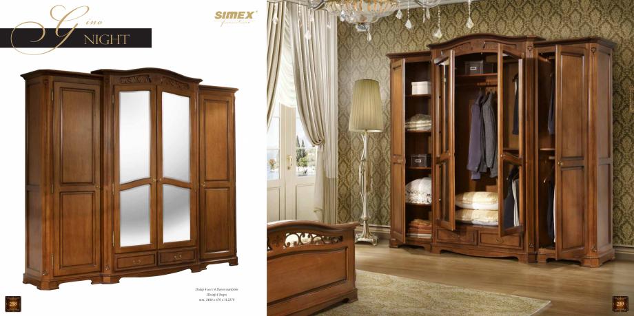 Pagina 131 - Mobilier din lemn masiv pentru camere de zi CASA MOBILA SIMEX Cristina, Royal, Venetia ...