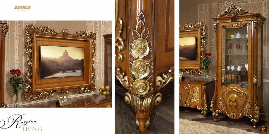 Pagina 136 - Mobilier din lemn masiv pentru camere de zi CASA MOBILA SIMEX Cristina, Royal, Venetia ...