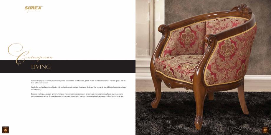 Pagina 143 - Mobilier din lemn masiv pentru camere de zi CASA MOBILA SIMEX Cristina, Royal, Venetia ...