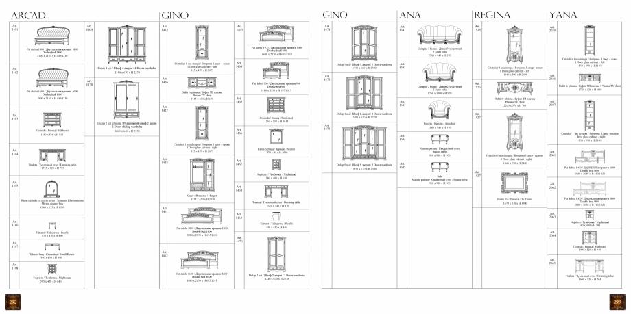Pagina 153 - Mobilier din lemn masiv pentru camere de zi CASA MOBILA SIMEX Cristina, Royal, Venetia ...
