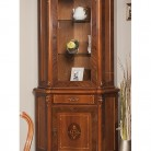 Bufet-vitrina colt lemn masiv Contessa