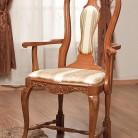Scaun cu brat lemn masiv Contessa