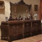 Bufet oglinda lemn masiv Cleopatra Lux