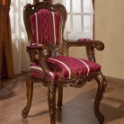 Scaun cu brat lemn masiv Cleopatra Lux
