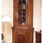 Bufet-vitrina colt lemn masiv Cleopatra