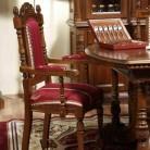 Scaun cu brat lemn masiv Cristina