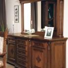 Bufet-rama oglinda lemn masiv Venetia Lux