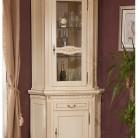 Bufet-vitrina colt lemn masiv Venetia