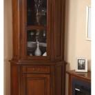 Bufet vitrina colt lemn masiv Rafael