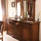 Bufet-rama oglinda lemn masiv Rafael