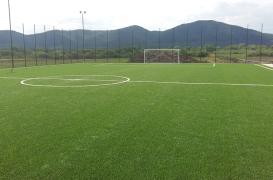 Montaj gazon sintetic pentru terenuri sport si multisport INDFLOOR