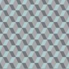 cubic-bright-ice-blue - Covor PVC eterogen - Acczent Excellence 80