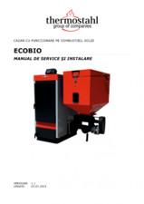 Manual de instalare si service cazan cu functionare pe pellet/biomasa/lemne THERMOSTAHL