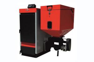 Cazane cu functionare pe combustibil mixt Cazanul THERMOSTAHL este un produs fiabil confectionat din otel, proiectat sa functioneze automat pe biomasa - pellet, agropalet, cereale, carbune, brichete.