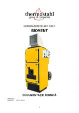 Generator de aer cald Biovent THERMOSTAHL