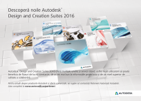 Descopera noile Autodesk® Design and Creation Suites 2016 AUTODESK