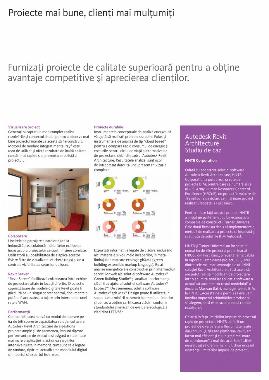 Pagina 4 - Proiectare fara compromisuri AUTODESK Revit 2018 Fisa tehnica Romana  în soluția...