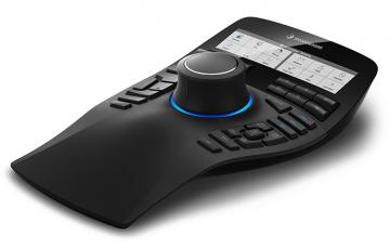 Dispozitivele de navigare pentru aplicatii 3D Dispozitivele de navigare 3Dconnexion asigura exploatarea la capacitate maxima a aplicatiilor 3D. Reduceti cu 50% numarul de click-uri de mouse si cresteti productivitatea cu 20% utilizand un mouse 3D de la 3Dconnexion.