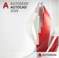 Software de proiectare Autodesk AutoCAD 2019 including specialized toolsets AUTODESK