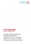 Instructiuni de montare - sistemul SecuSignal pentru manere de ferestre HOPPE