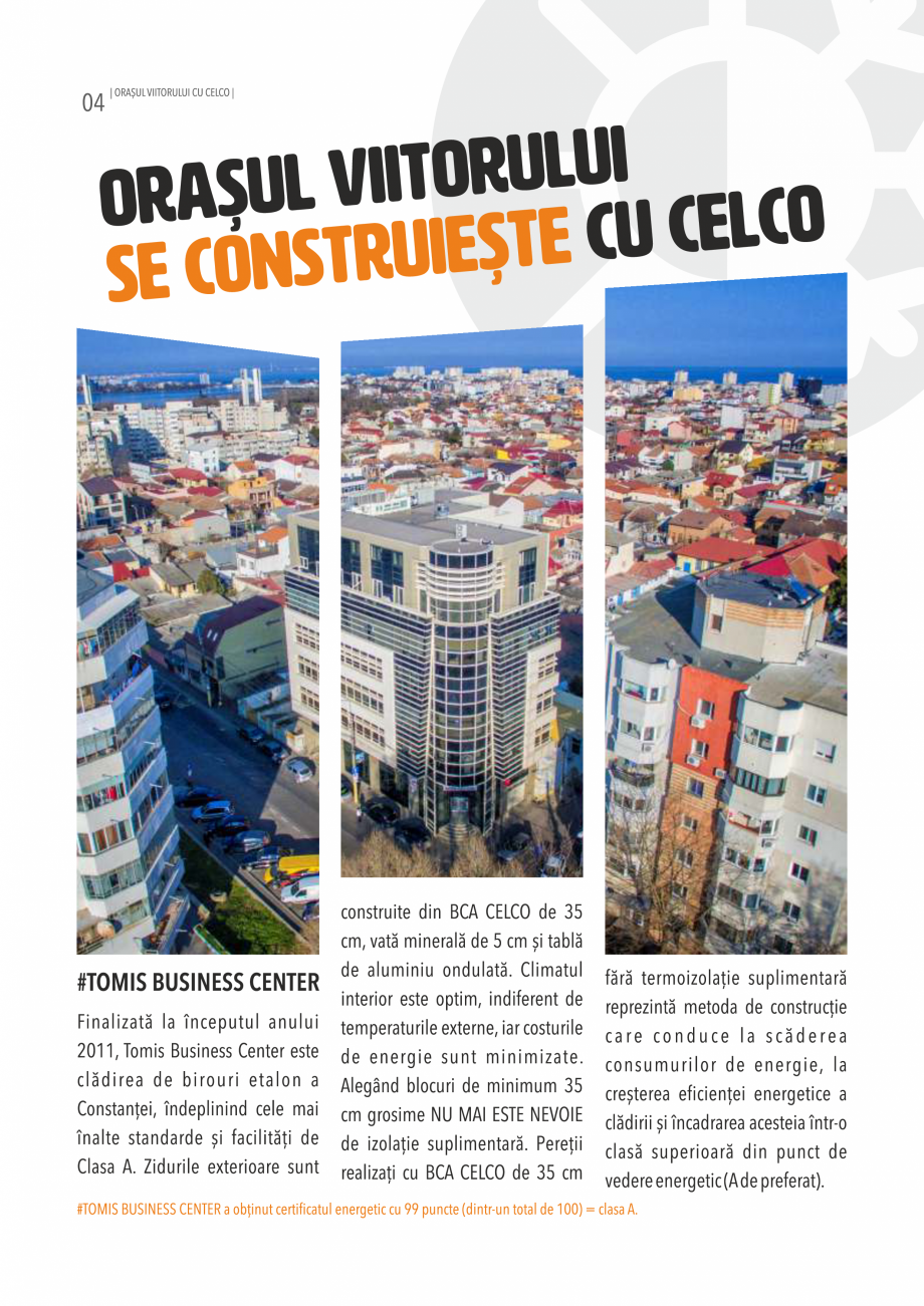 Pagina 4 - Pliant CELCO 2019 CELCO ZID DD-M5, ZID DD-M10 Catalog, brosura Romana
