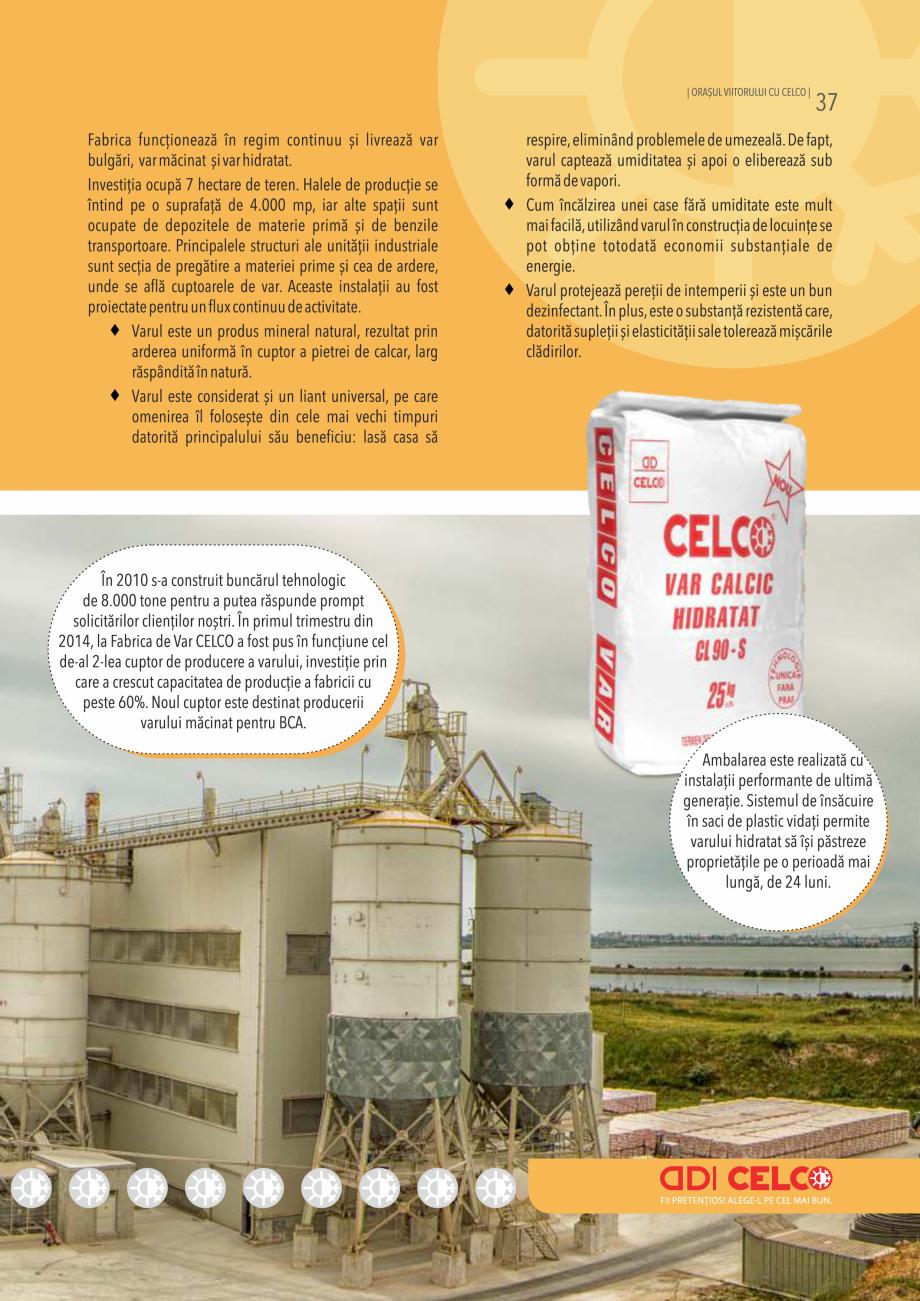 Pagina 37 - Pliant CELCO 2019 CELCO ZID DD-M5, ZID DD-M10 Catalog, brosura Romana